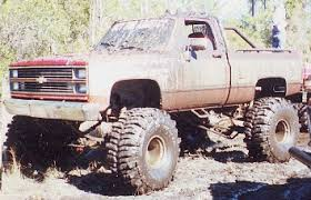 chevy mud trucks