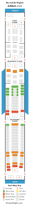 airbus 340 seating