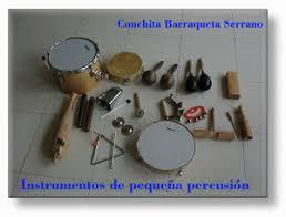 instrumentos de percussion