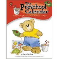 pre school calendar