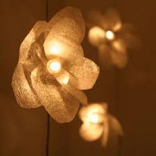 lighting flowers
