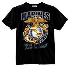 marine corp t shirt