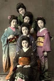 geisha kimonos