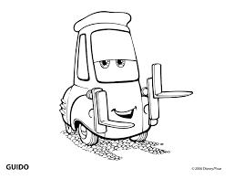 pixar car coloring pages