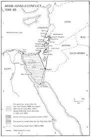 arab israeli conflict maps