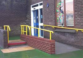 disabled handrail
