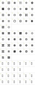 mosaic ornaments