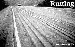 asphalt rutting