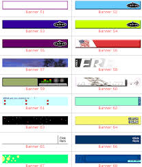 website banners templates