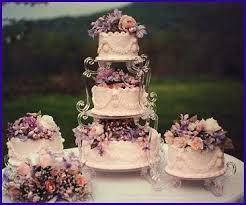 garden cake stand