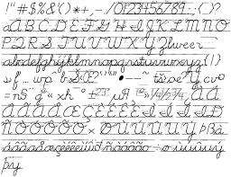 english penmanship