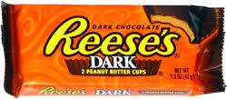 dark chocolate reeses