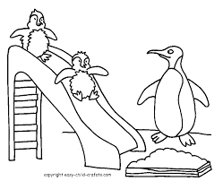 coloring pages of penguin