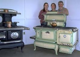 antique cook stoves