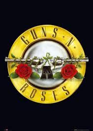 guns and roses logos