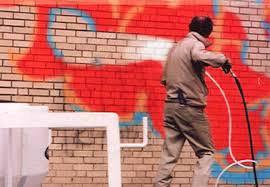 graffiti removing