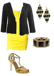 cache yellow dress