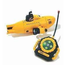 radio controlled mini submarine