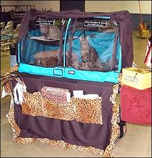 cat show cage