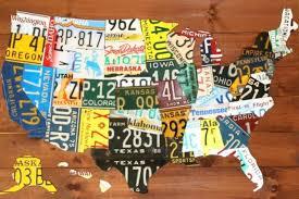 licence plates usa