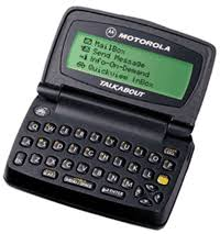 motorola talkabout pagers