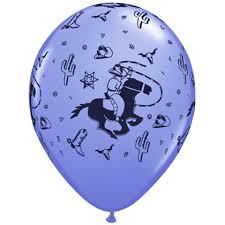 cowboy balloons