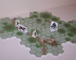 cardboard miniatures