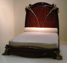 art nouveau beds