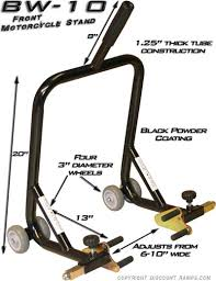 motorcycle wheel stands