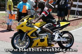 black bike week pictures