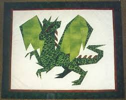 dragon quilt pattern
