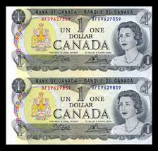 1 dollar canadian bill