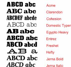 slab serif fonts