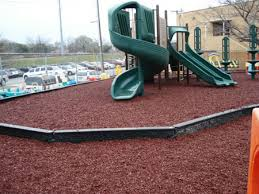 rubber play ground