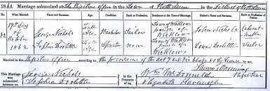 irish marriage certificate
