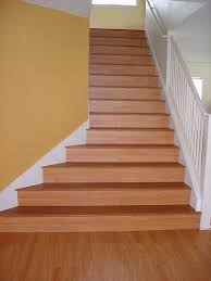laminate on stairs