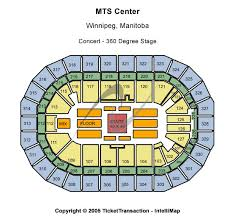 mts centre map