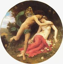 cupid and psyche art