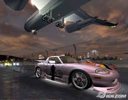 racing ps2 game
