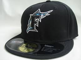 florida marlins fitted hats