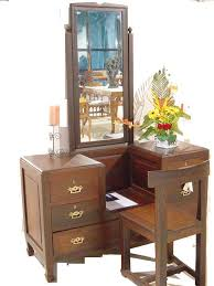 wood dressing tables