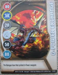 bakugan card