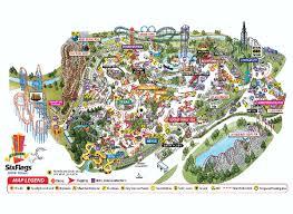 6 flags theme parks
