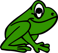 frog cliparts