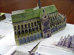 architecture pop up books