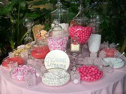 candy buffet photos