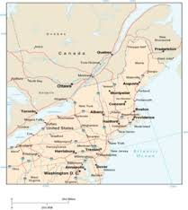 map of north eastern us