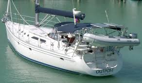 sailboat davit