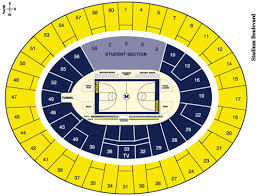 crisler arena seating chart