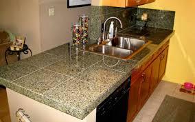 kitchen counter top tiles